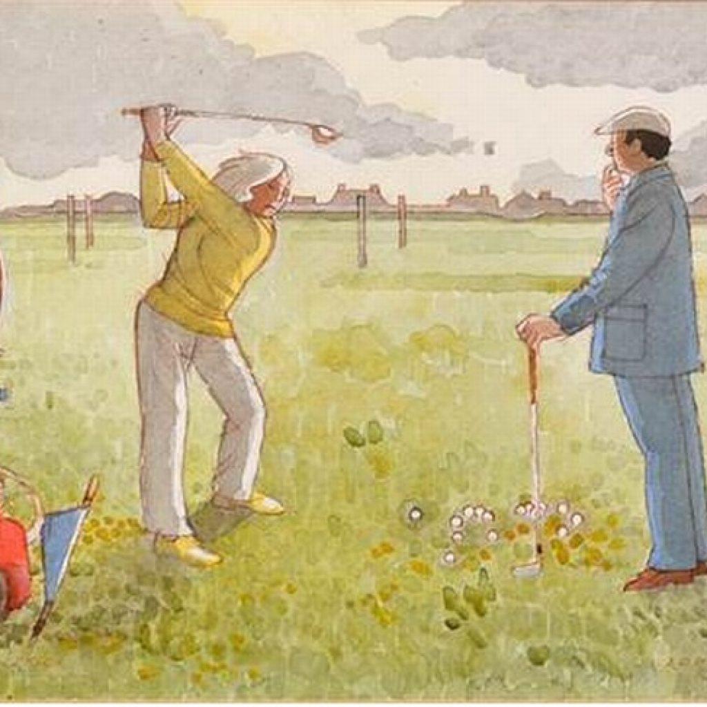 Veien til golf-ionicus
