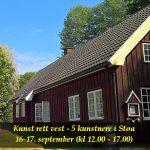 Kunst rett vest i Støa