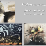 Holmsbustuene - Vernissasje