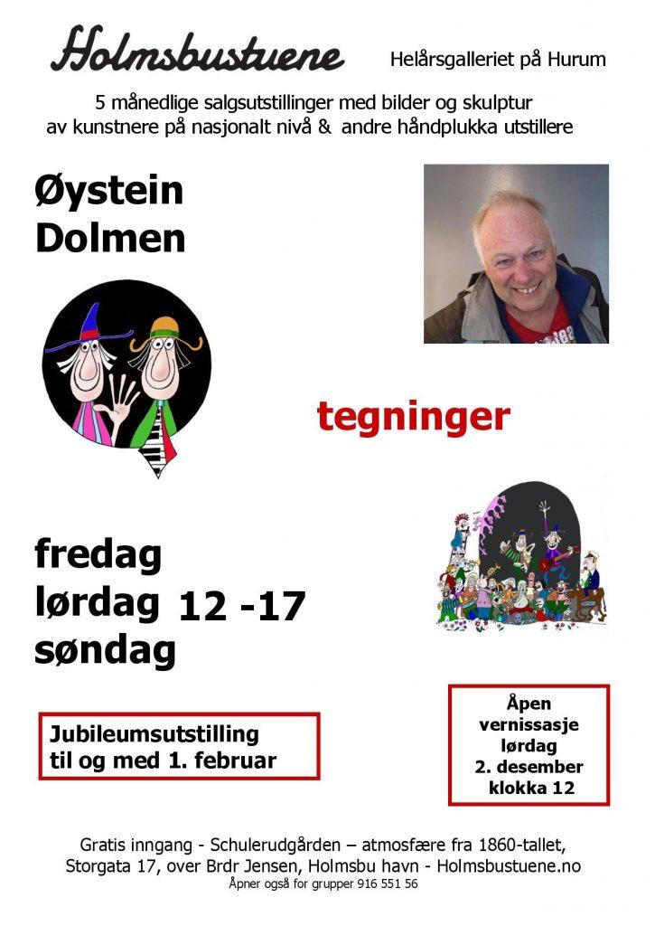 Holmsbustuene - Øystein Dolmen