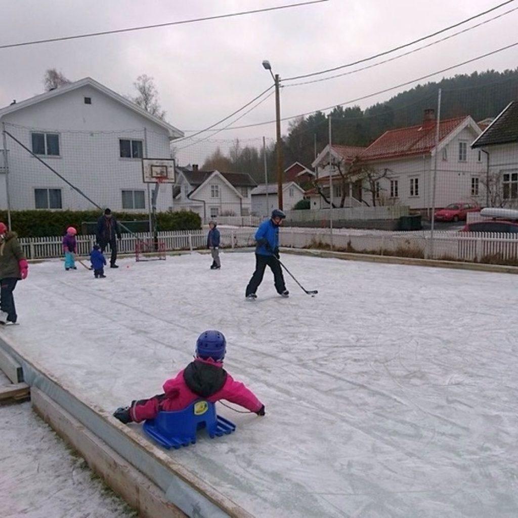 Flaterhagan - Skøytelek