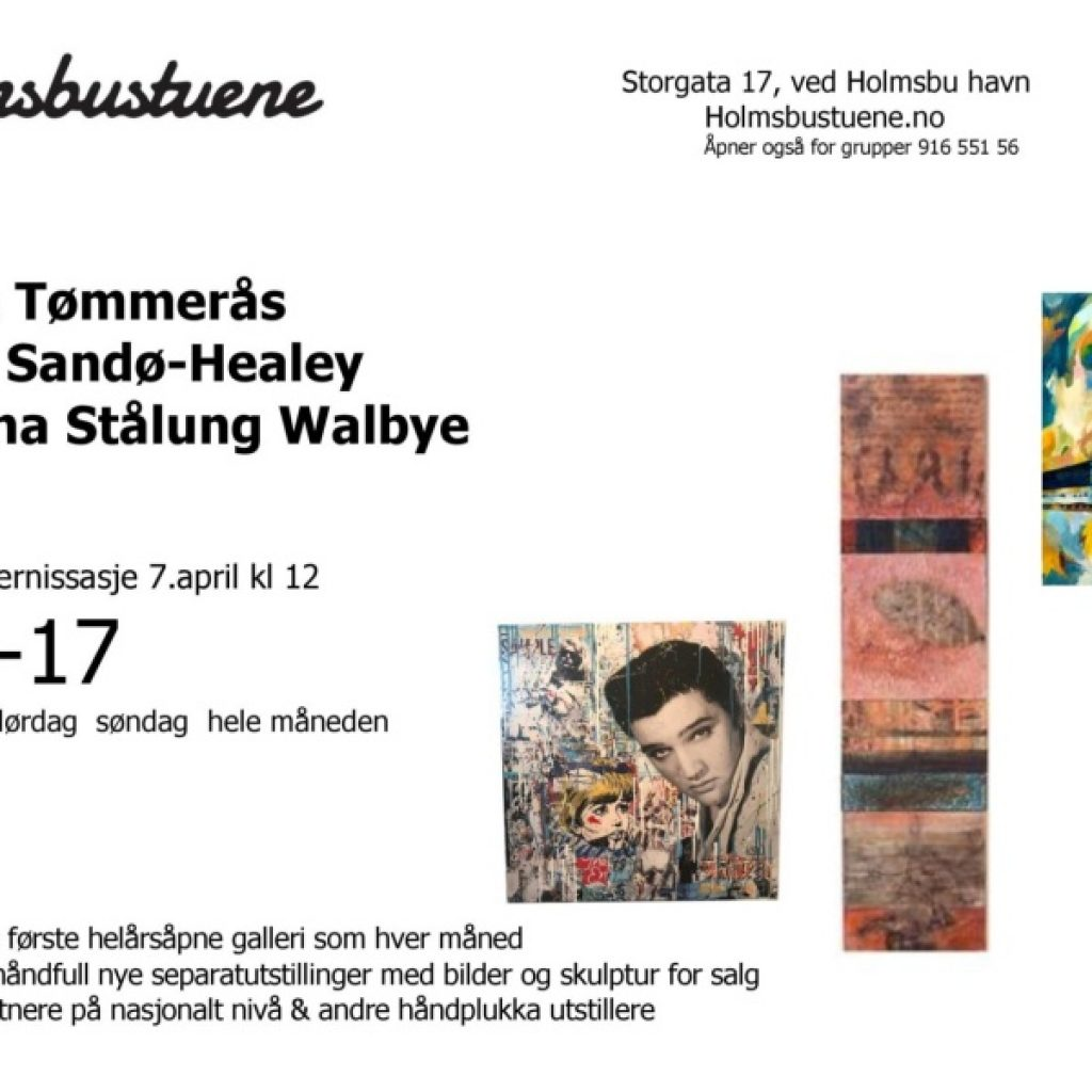 Holmsbustuene - April 2018