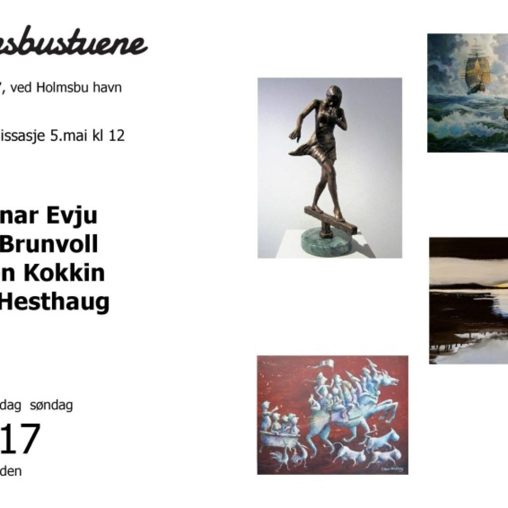 Holmsbustuene - mai 2018