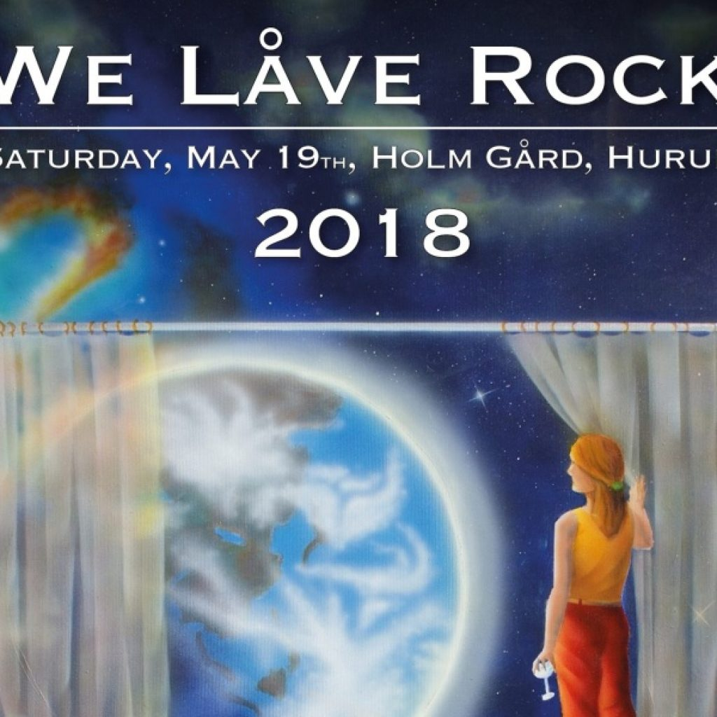 Plakat - We Låve Rock - 2018