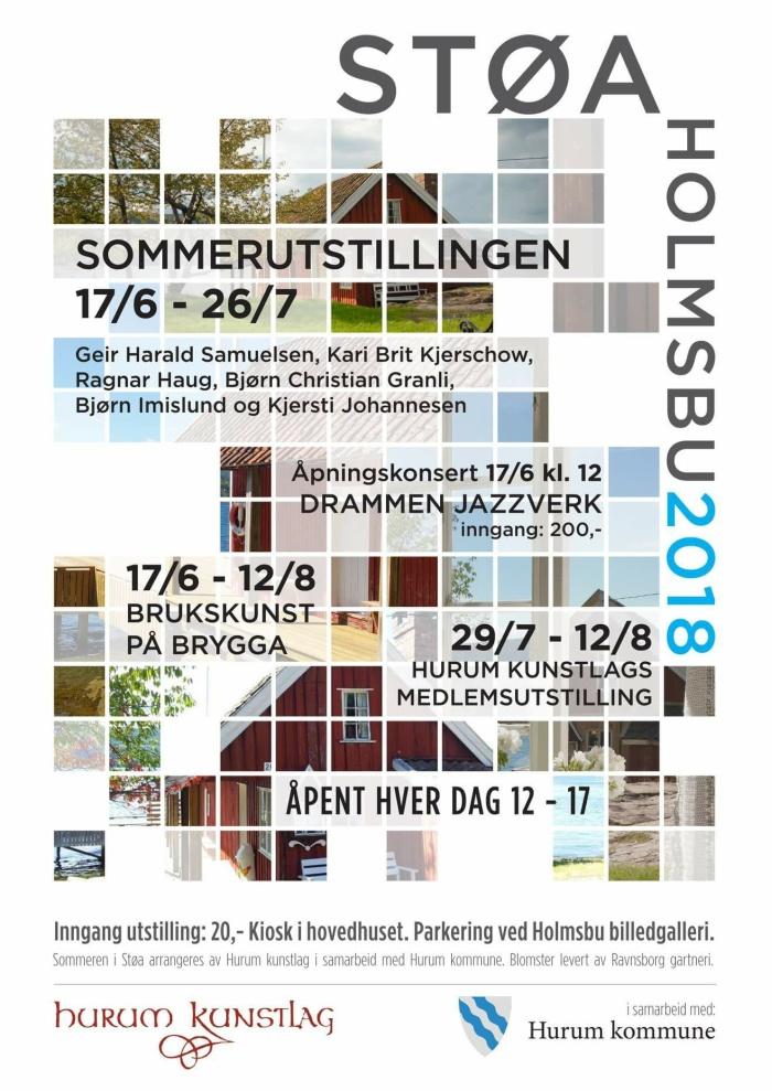 Sommerutstilling i Støa - 2018