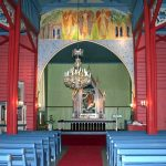 Holmsbu kirke - interiør