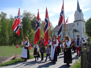 Borgertog i Holmsbu