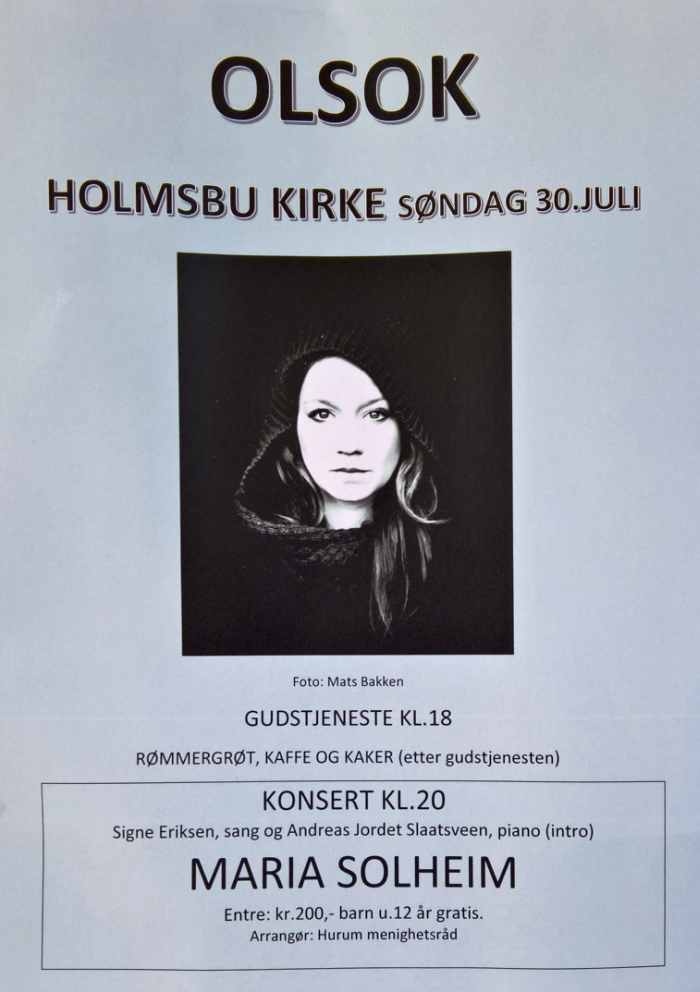 Holmsbu kirke - Olsok