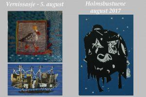 Holmsbustuene - august 2017