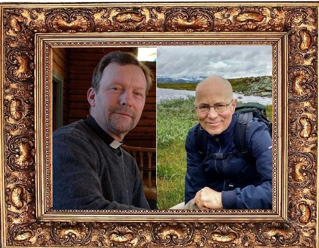 Ragnar Elverhøj og Michael Moreskine