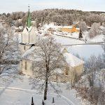 Holmsbu kirke - vinter