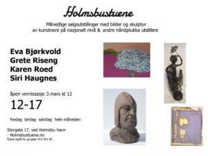 Holmsbustuene - Mars 2018