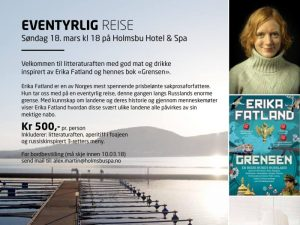Holmsbu Hotel & Spa - Litteraturaften