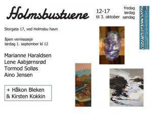 Holmsbustuene - September