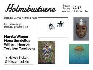 Holmsbustuene - Oktober 2018