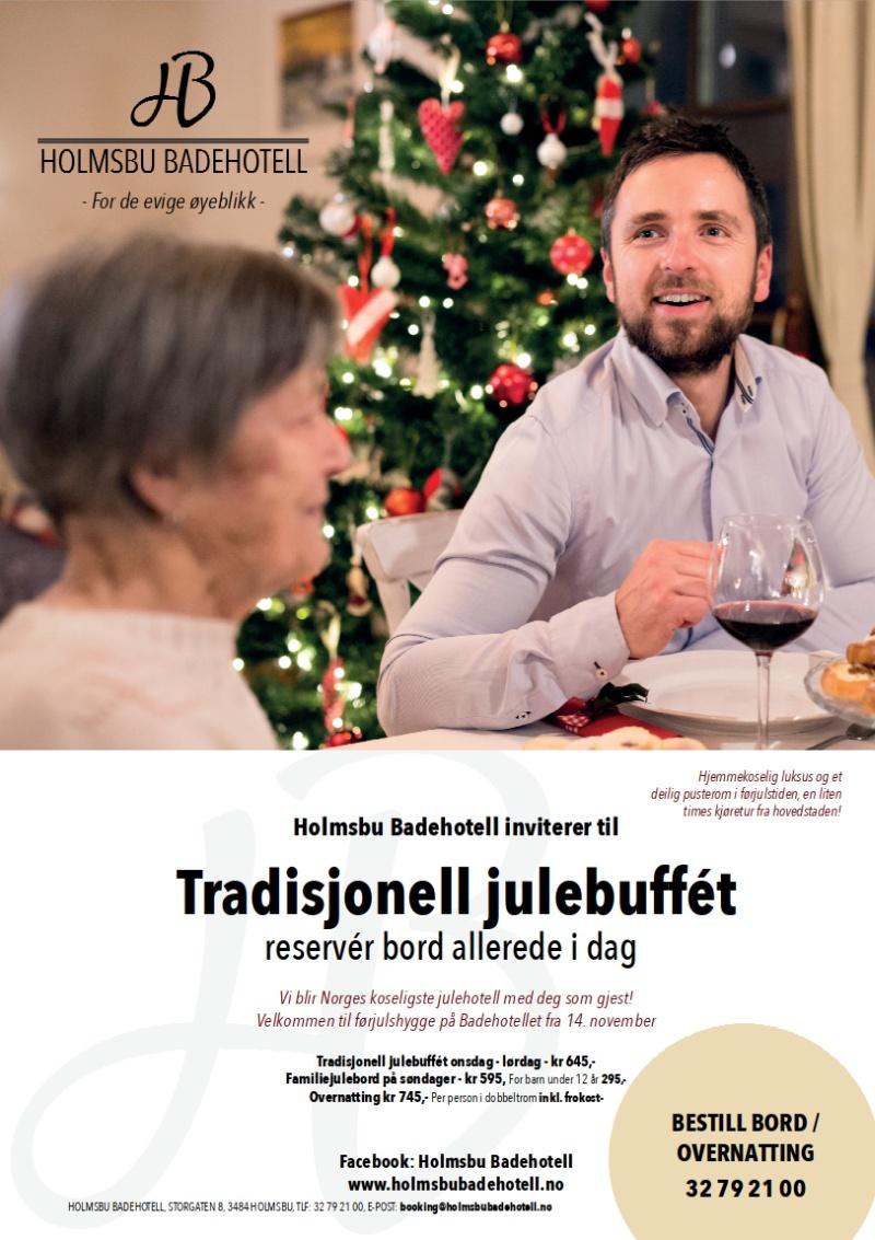 Holmsbu Badehotell - Julebord