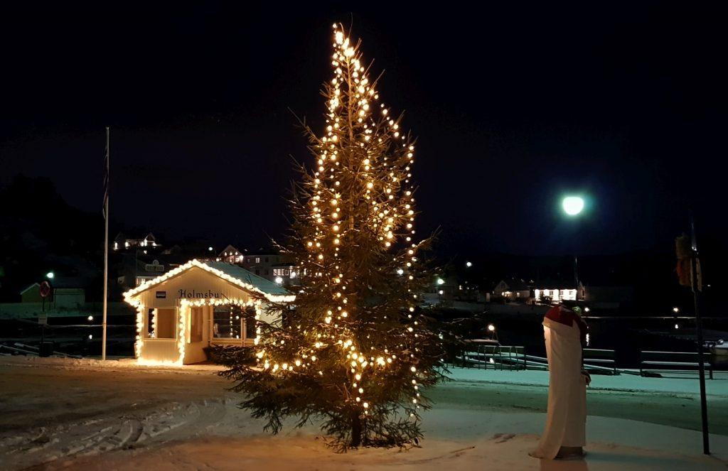 Holmsbu - Juletre