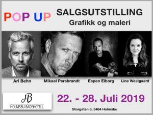 Holmsbu Badehotell - Pop Up utstilling