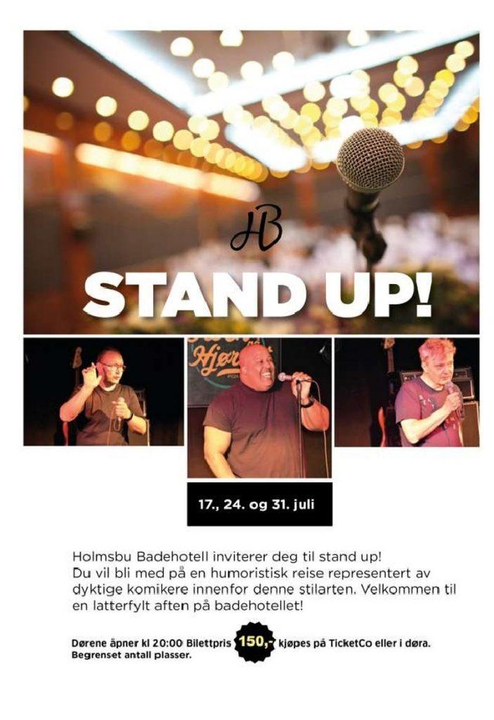 Stand Up på Holmsbu Badehotell