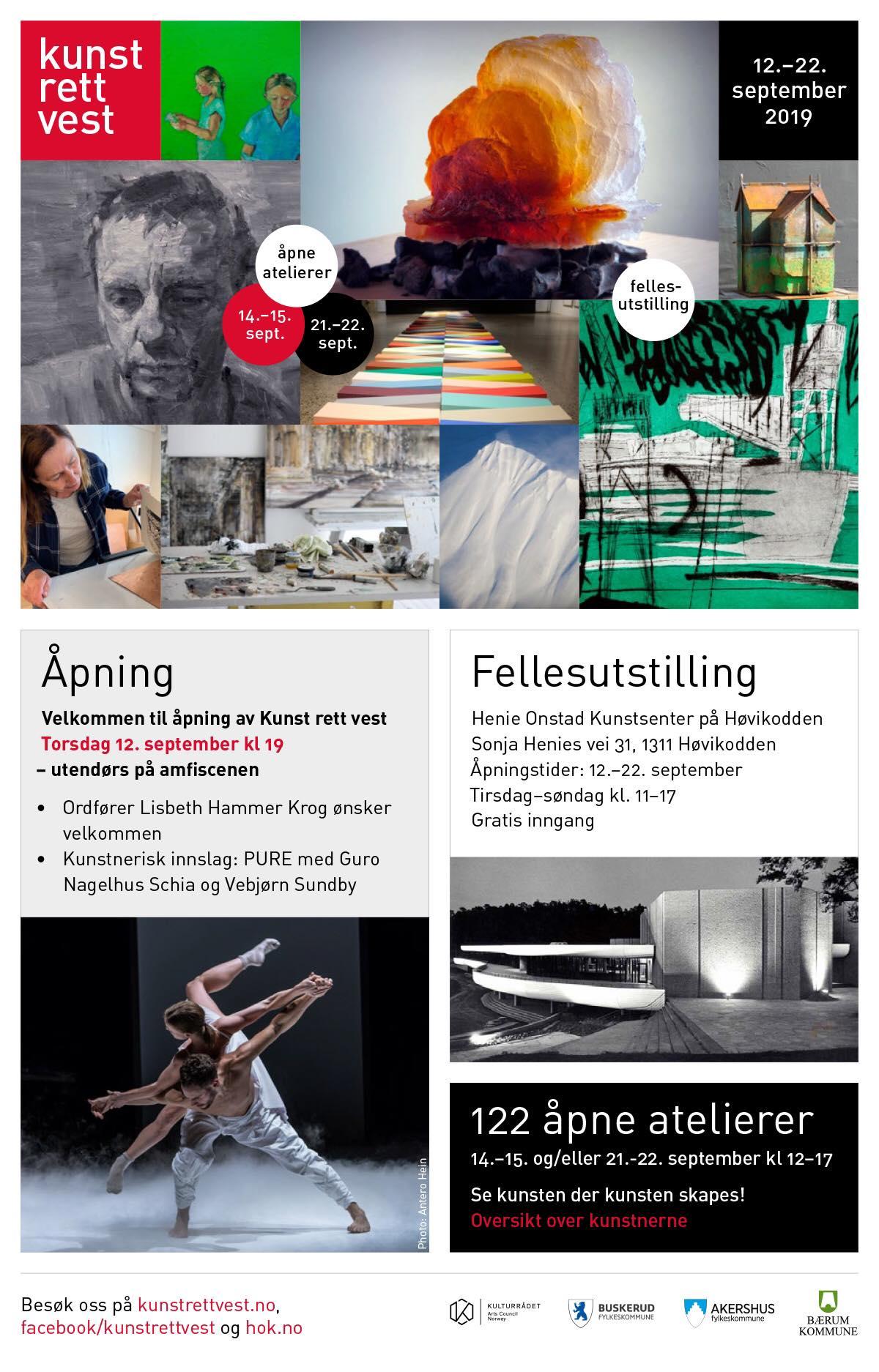 Kunst rett vest 2019 - Brosjyre