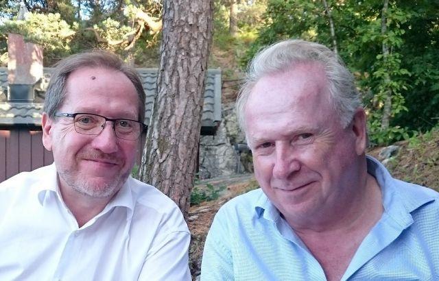 Håkon og Jo Vestly