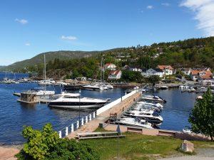 Holmsbu havn og KOK Holmsbu