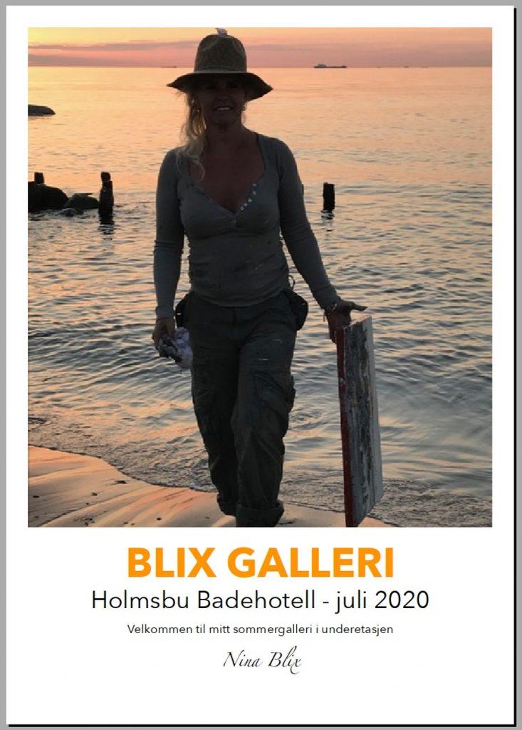 Blix Galleri - Plakat
