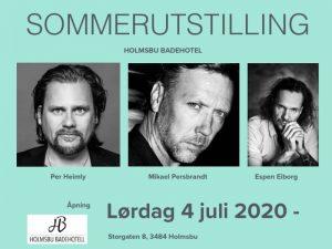 Holmsbu Badehotell - Sommerutstilling 2020